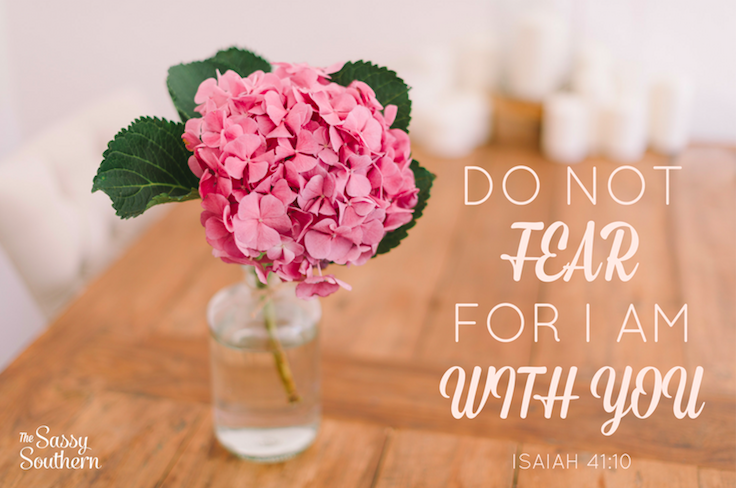 Encouraging Bible Verse Isaiah 41:10