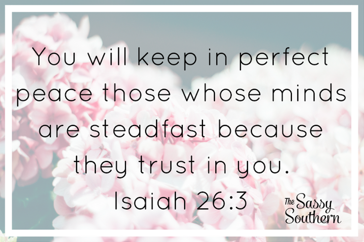 Isaiah 26:3 Bible Verse