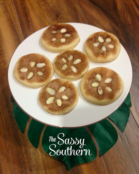 Sand Dollar Cookies - Tropical Baby Shower
