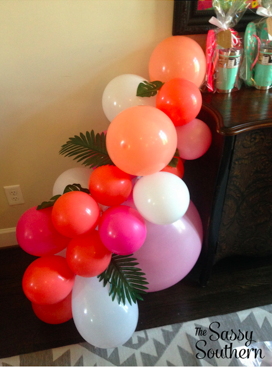 Baby Shower Balloon Arch
