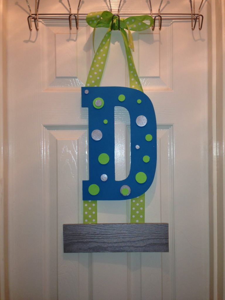 Baby Boy Hospital Door Hanger