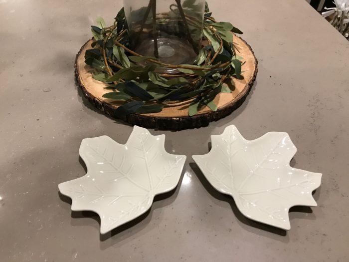 Target Dollar Spot Fall 2017 - Leaf Plates