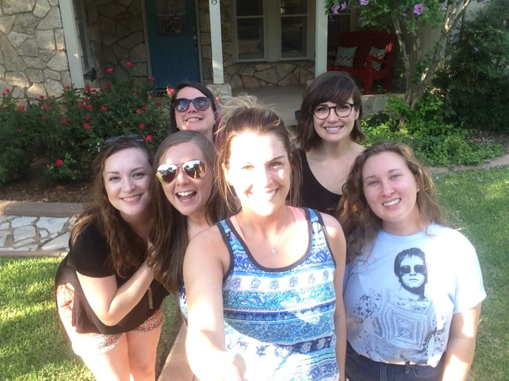 Bachelorette Weekend at The Colored Door Properties in Fredericksburg Texas