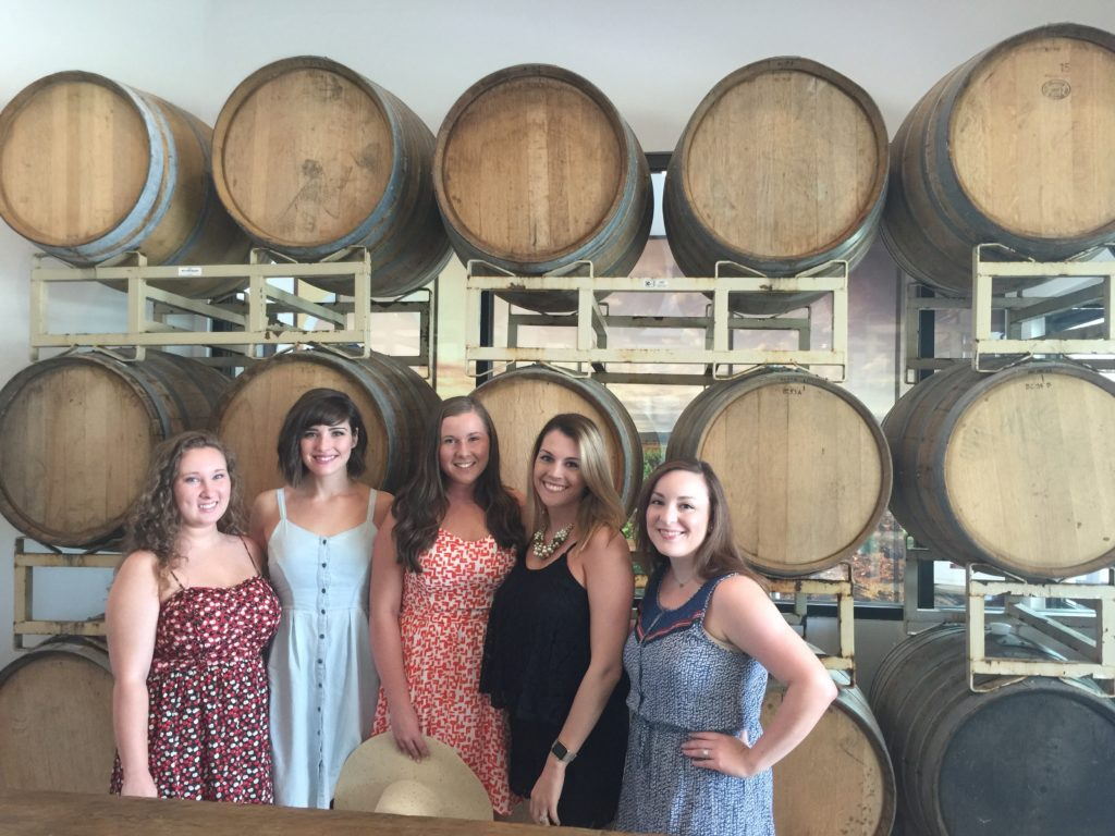 Barons Creek Vineyards Bachelorette Party in Fredericksburg Texas