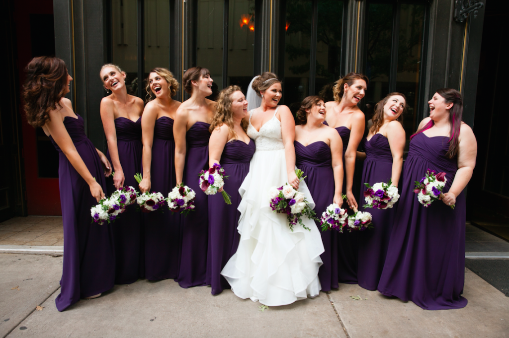 Bridal Party Fort Worth Texas Wedding