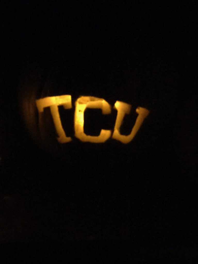 TCU Pumpkin Carving