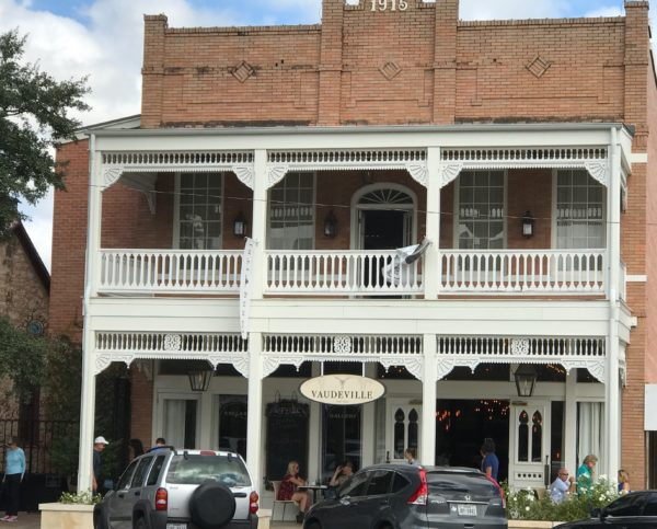 Vaudeville Restaurant Fredericksburg Texas