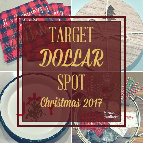 2017 Christmas Target Dollar Spot