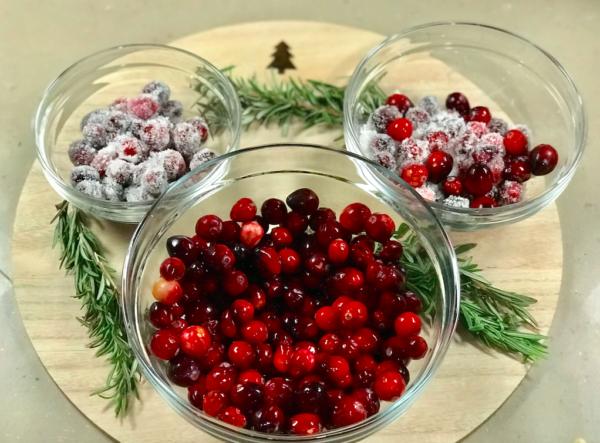 Christmas Sangria Recipe Cranberries