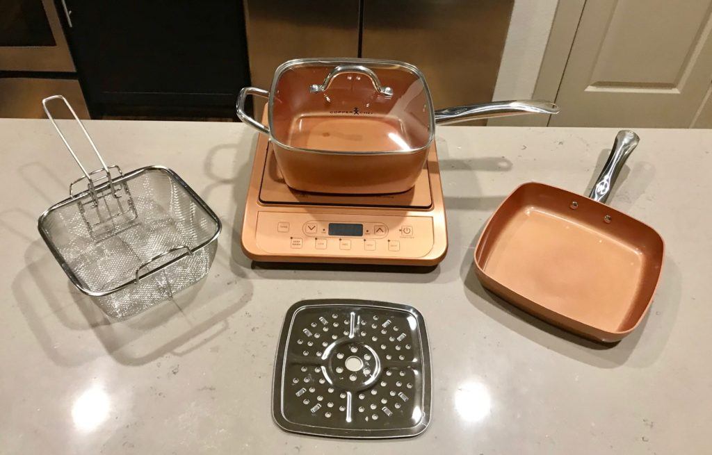 Copper Chef Pan Set