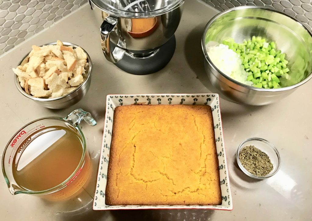 Cornbread Dressing Recipe Ingredients