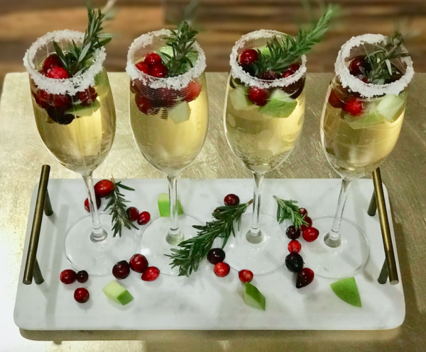 Cranberry and Apple Sangria