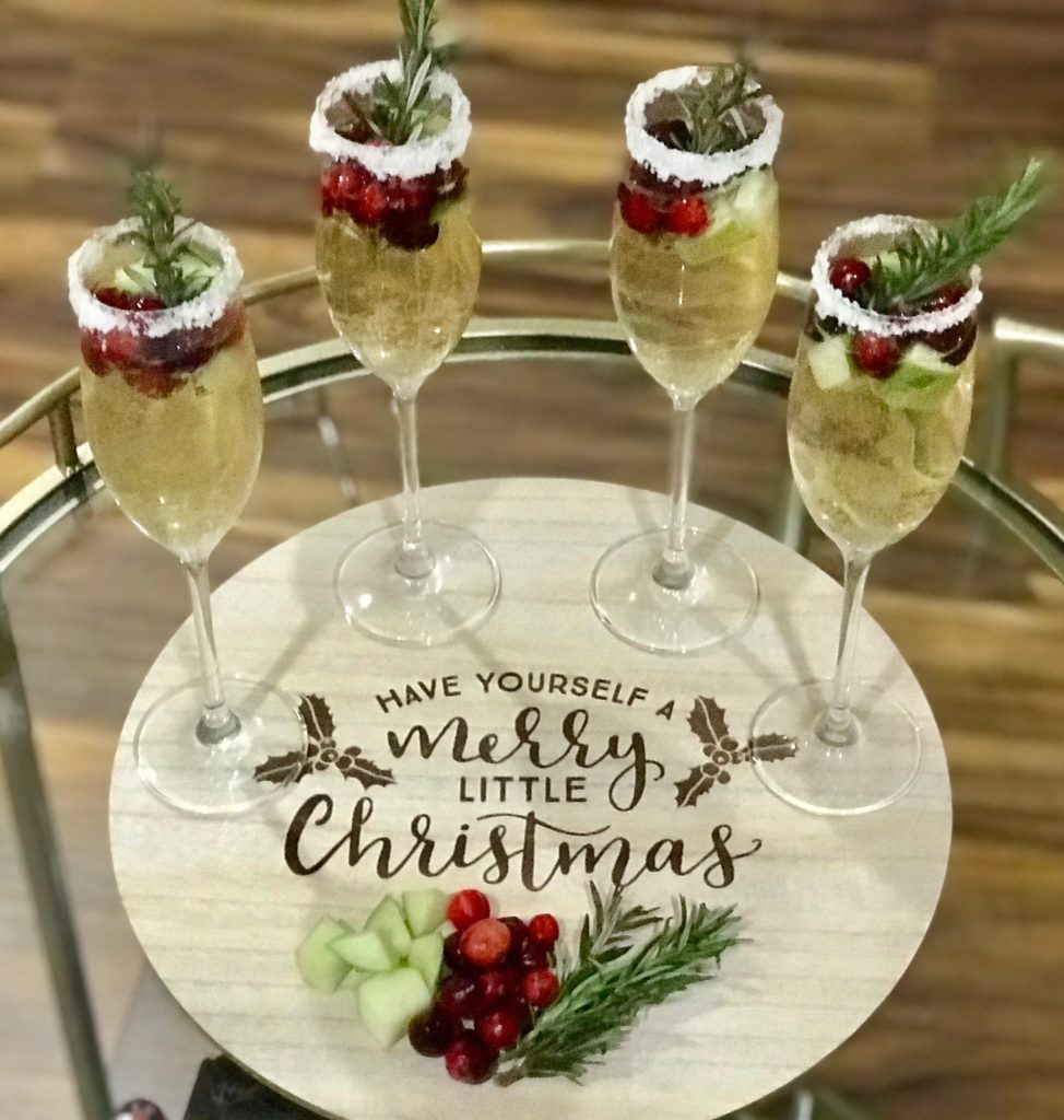 Holiday Sangria Cocktail