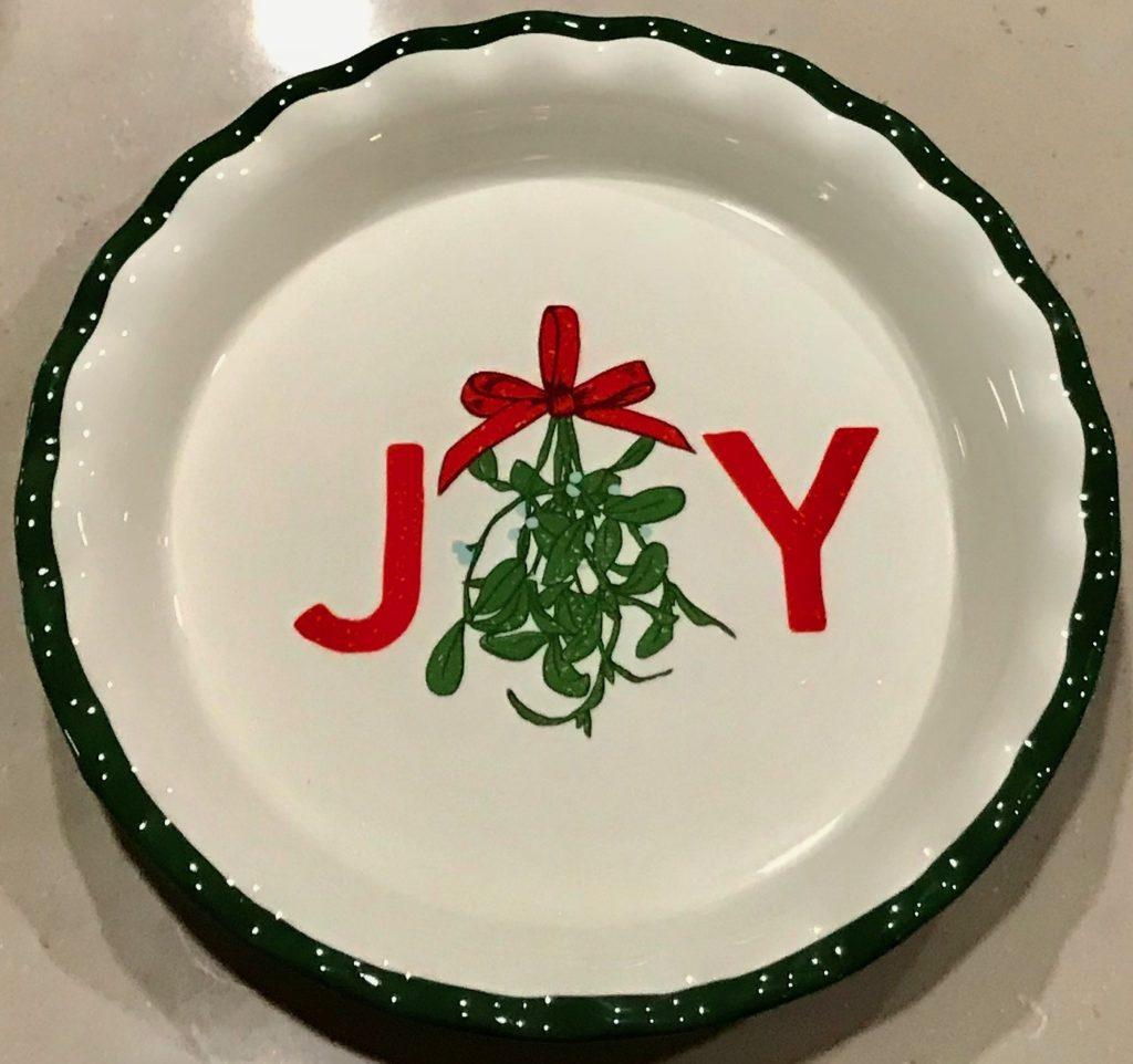 Target Dollar Spot 2017 Joy Pie Pan