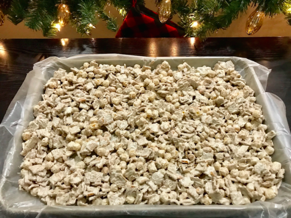 Christmas Candy Crunch Recipe and Ingredients