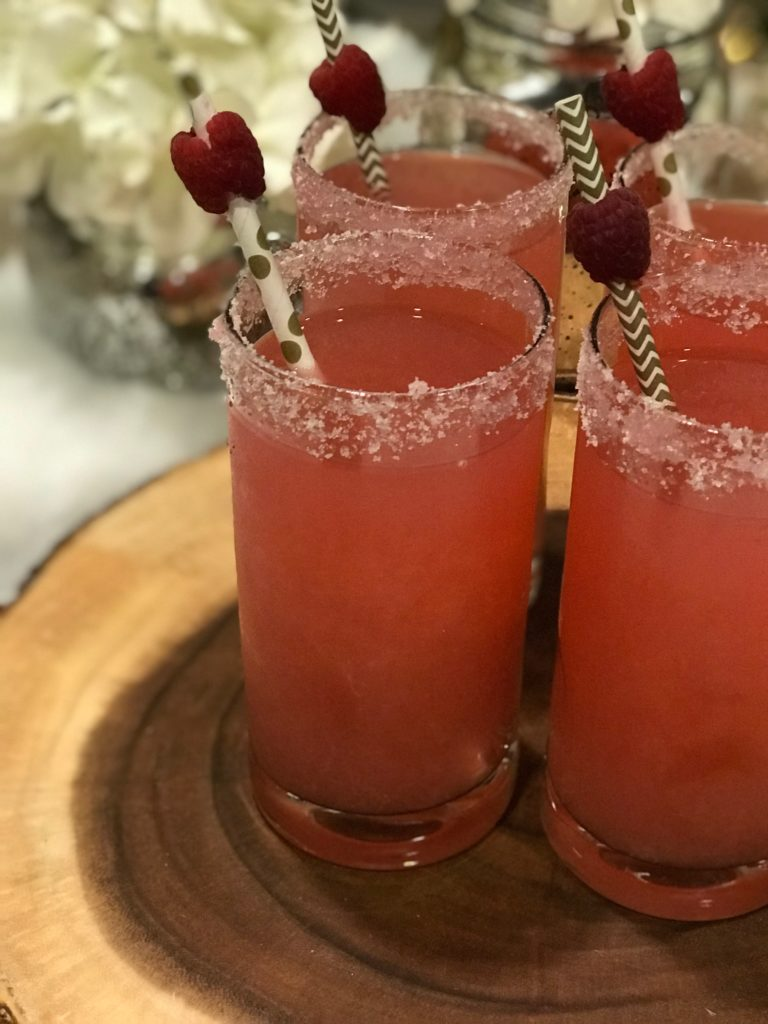 Coconut Rum and Raspberry Lemonade Cocktail Recipe