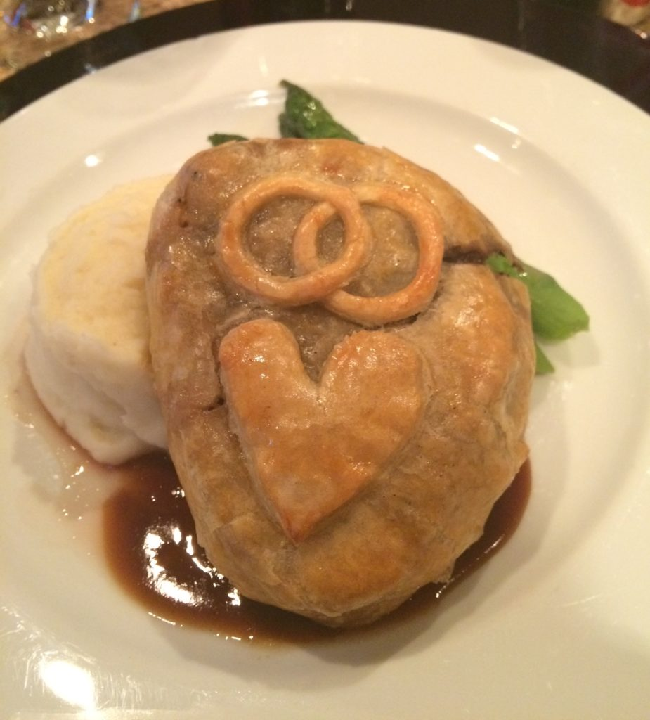 Beef Wellington Wedding Menu