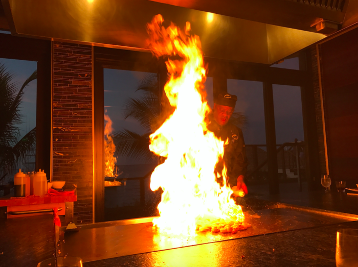 Kimonos Restaurant at Sandals Ochi