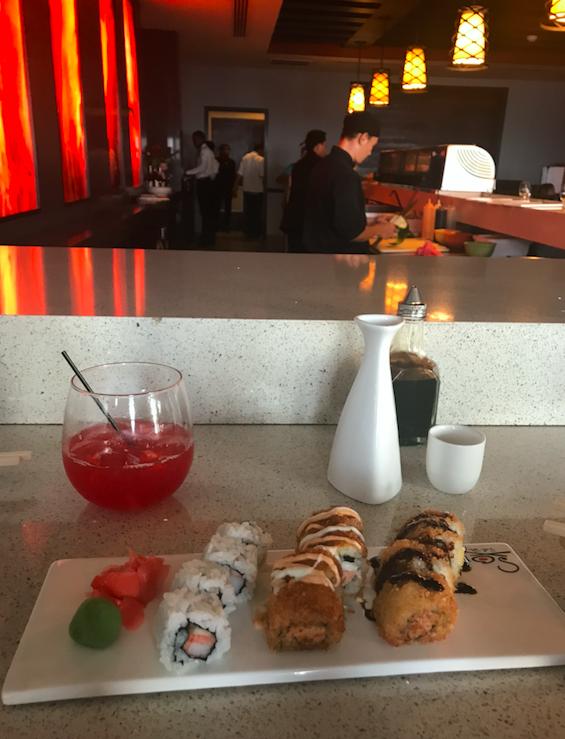 Sushi at Sandals Ocho Rios