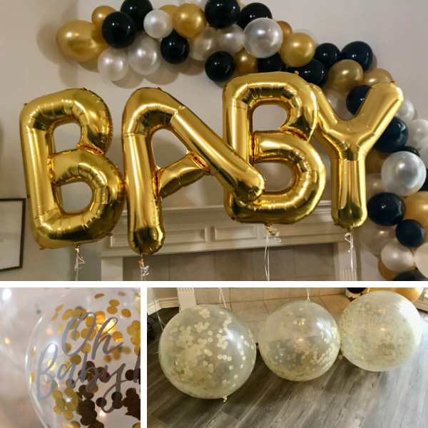 Gender Reveal Balloon Decor
