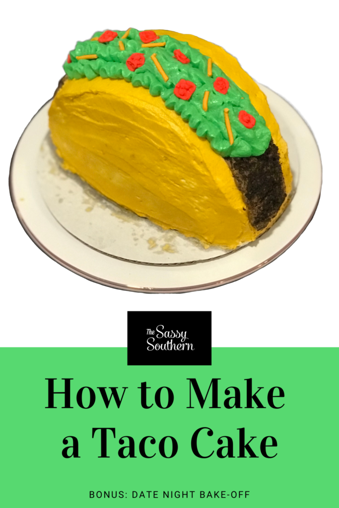 How To Make A Taco Cake