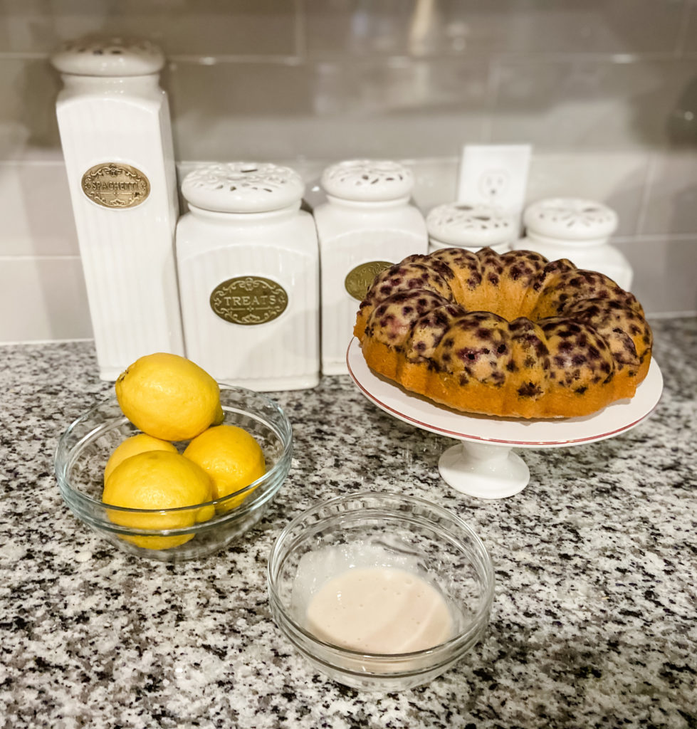 Lemon Blueberry Bundt Cake Recipe Mother's Day Brunch