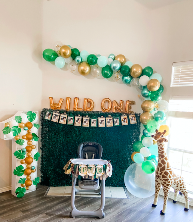 Wild ONE Safari First Birthday