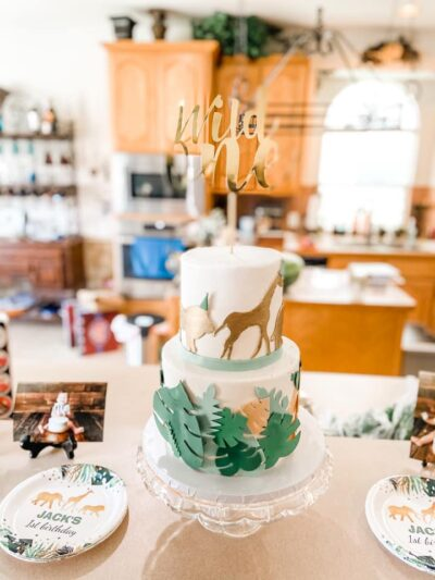 Safari WILD ONE CAKE